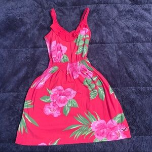 Hollister floral sun dress